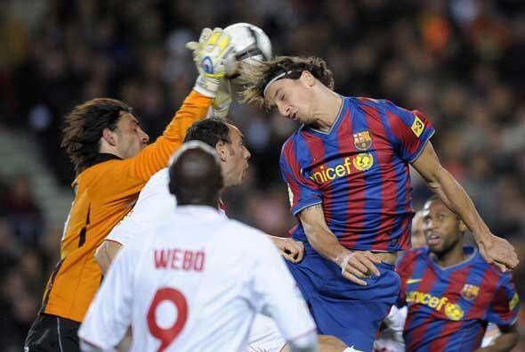 En la jornada del fútbol de España el Barcelona recibi&oac...