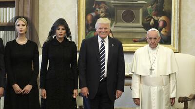 Las diez fotos más espectaculares del primer viaje internacional del presidente Donald Trump