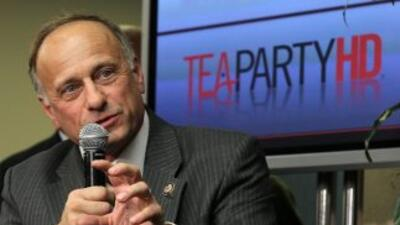 El congresista republicano de Iowa, Steve King.