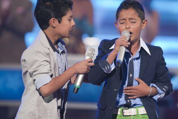 Esta novena gala del show, los pequeños cantantes dedicaron sus cancione...