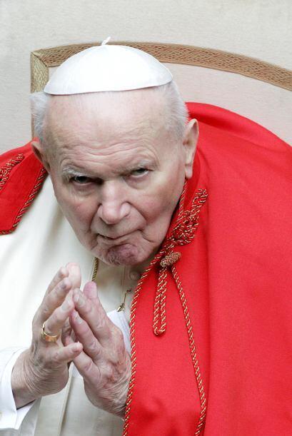 Juan Pablo II fue el Papa número 264 en la historia de la Iglesia Católi...