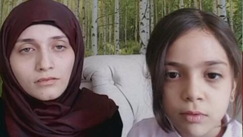 """Niña refugiada siria: """"Quiero parar la guerra"""""""
