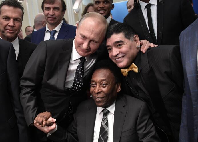 En fotos: así se vivió la ceremonia del sorteo del Mundial Rusia 2018 ap...
