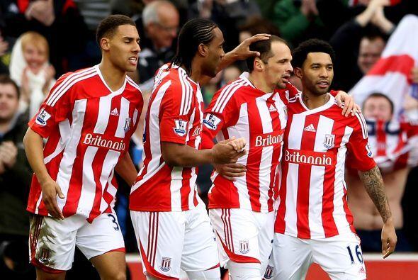 Stoke City le ganó 1 a 0 al Norwich.