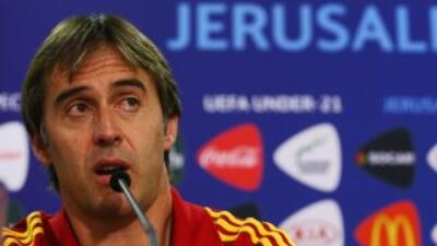 Lopetegui se ha formado como técnico dirigiendo en categorías inferiores...