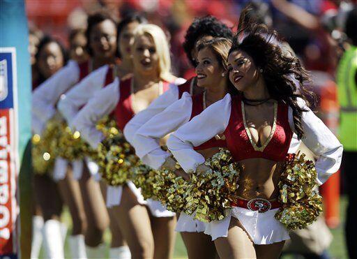 Las porristas de los San Francisco 49ers quieren estar en Nueva York par...