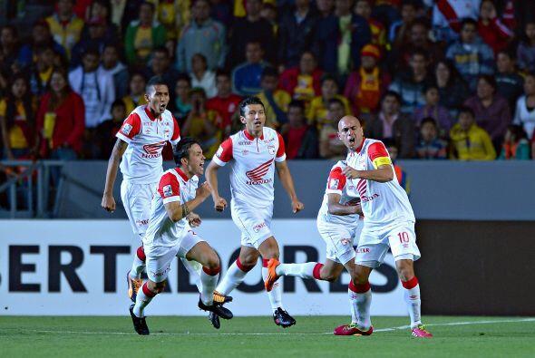Eliminado por el gol de visitante que le marcó Independiente de Santa Fe...