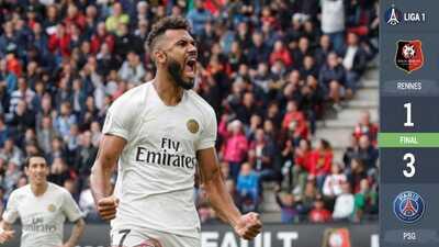 ¡Arrollador! El PSG derrota al Rennes en espectacular voltereta