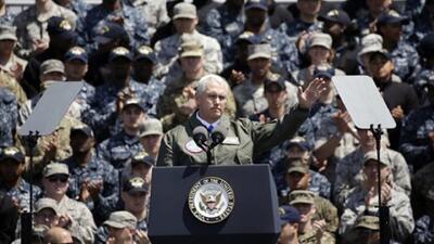 """Pence advierte a Corea del Norte: """"El escudo está en guardia y la espada..."""