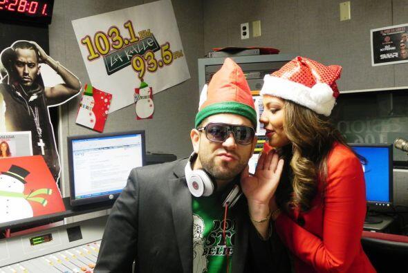 Nicole le contó a Latino Omarcillo sobre su 'Secret Santa'.