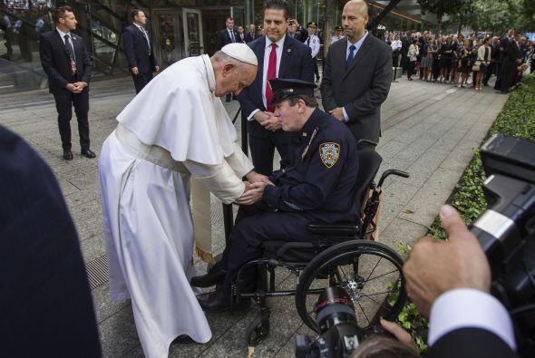 El acercamiento del pontífice.