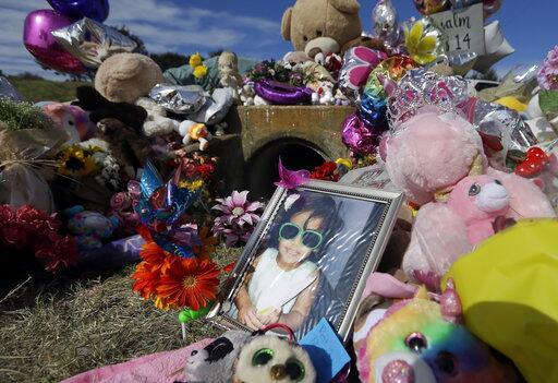 "La niña Sherin Matthews sufrió ""violencia homicida"" revela autopsia ap-1..."