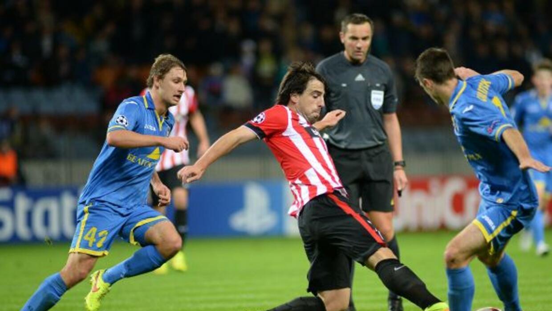 El club de Bilbao fue derrotado por el BATE Borisov.