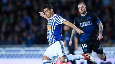 En fotos: Héctor Moreno se estrena como goleador en la victoria de la Real Sociedad
