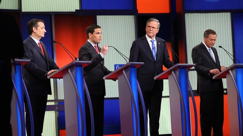 Liveblog: Así ocurrió el debate republicano debate10.jpg