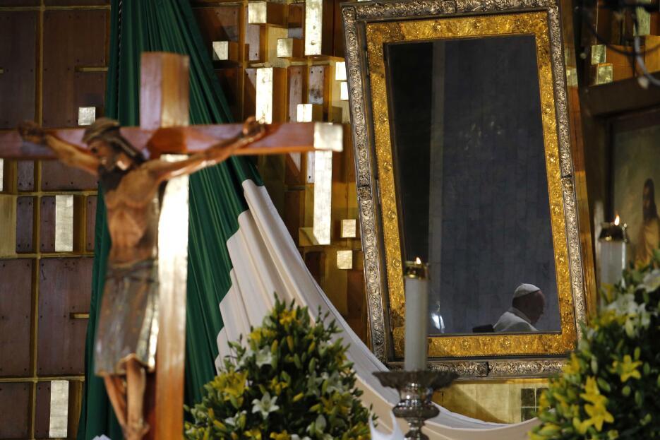 El Papa en la Basílica