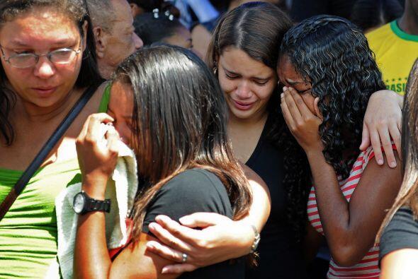 Brasil se encuentra en duelo por los pequeños que perdieron la vida.