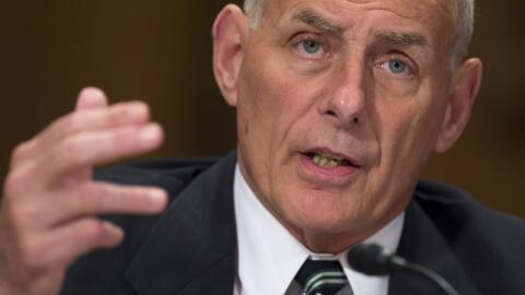 General John Kelly,  Jefe de Despacho de la Casa Blanca.