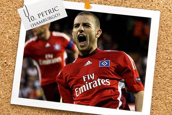 Volviendo a la Bundesliga alemana, tenemos al croata Mladen Petric.