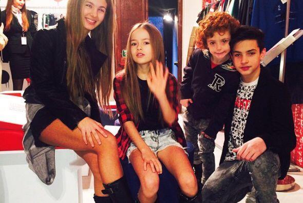 ¿Crees que Kristina es muy joven para estar en el mundo de la moda?