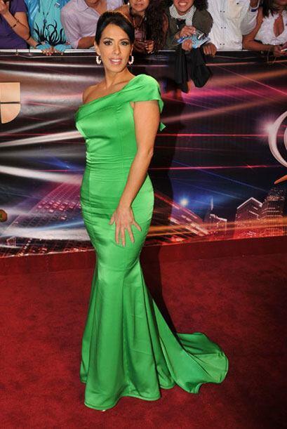 Marisa del Portillos dejó ver sus curvas con el traje que Miguel Angel M...