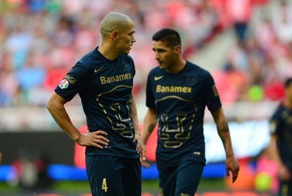 La jugada se dio cuando los Pumas buscaban el empate en la recta final d...