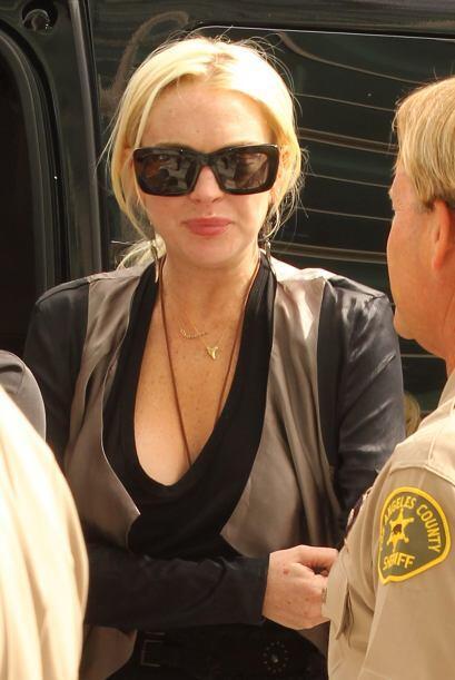 Lindsay Lohan dijo que no tenía dinero para pagarle al psicólogo mientra...
