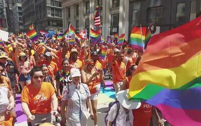 Esperan que el desfile y festival del orgullo gay en Nueva York sea un e...
