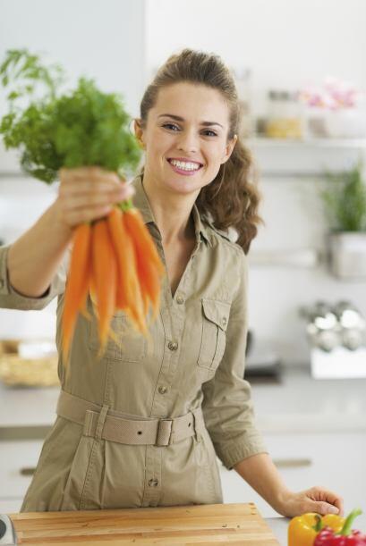Zanahorias. Al contener beta-caroteno, otro tipo de antioxidante, las za...