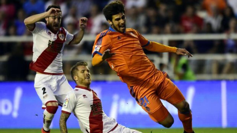 El equipo naranjero no pasó del empate en la cancha de Vallecas.