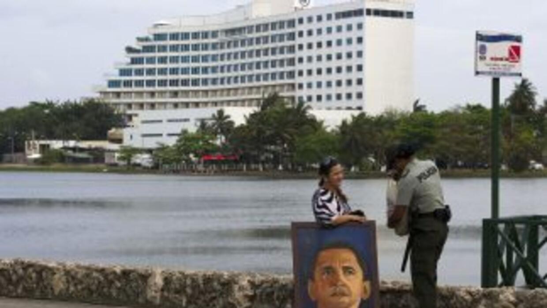 La Cumbre de las Americas se celebra en Cartagena de Indias, Colombia.