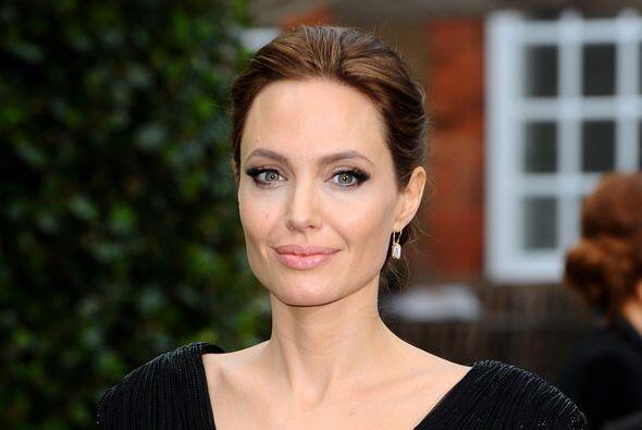 Angelina Jolie La actriz y directora está en la mitad de la lista: el nú...