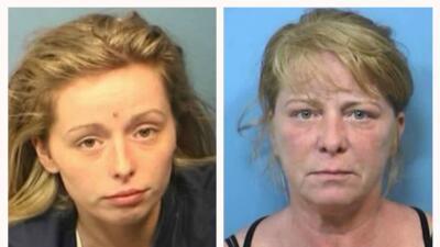 Samantha Palermo, de 21 años, y Kelly Palermo, 50 años.