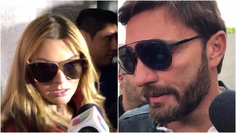 Marjorie de Sousa y Julián Gil llegan a la corte en México