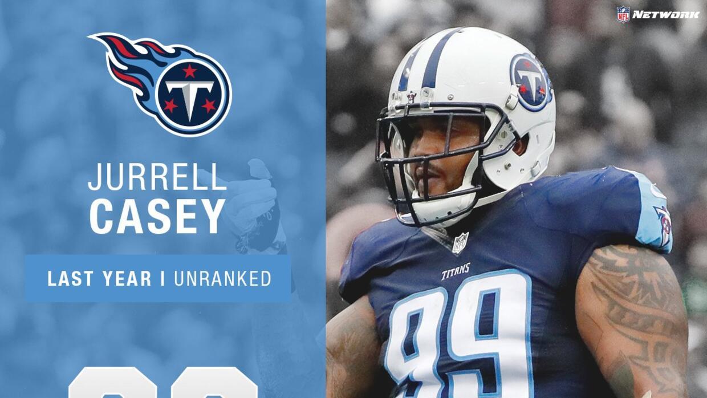 86 Jurrell Casey DT Titans
