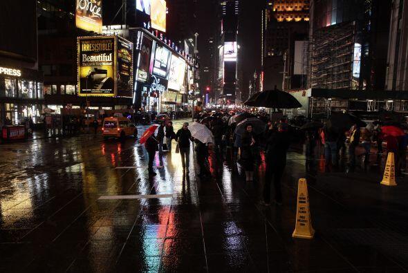 Un gran espectáculo se vivió en Nueva York.