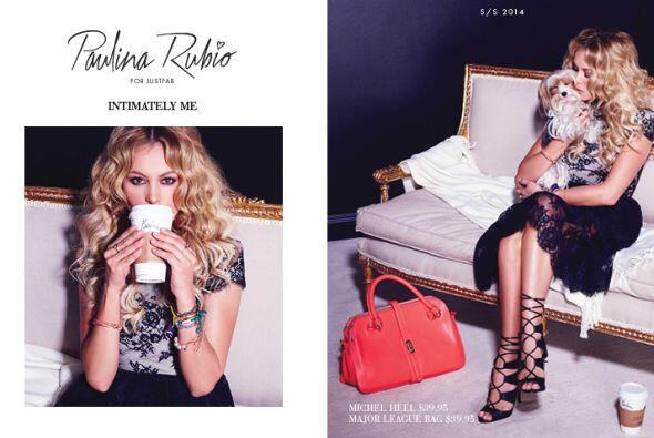 Esta es la campaña publicitaria de su colección Abril 2014. (Cortesía Ju...