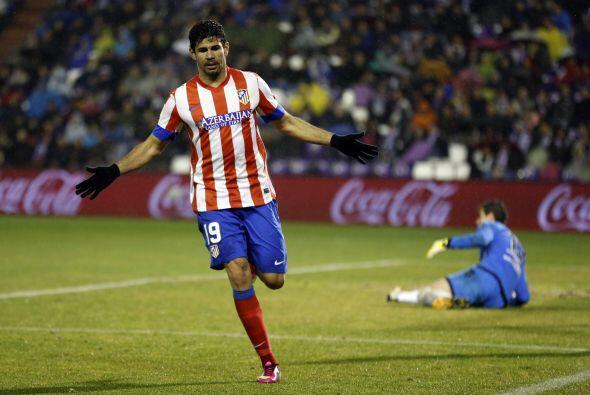 Pero Diego Costa también está enrrachado, marcando el 2-0.