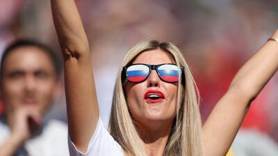 Las fanáticas que seguirán apoyando en los cuartos de final de Rusia 2018