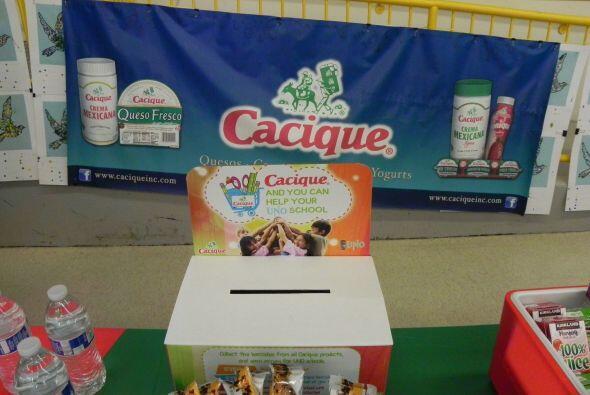 La marca de productos Cacique se asoció este año académico con las escue...