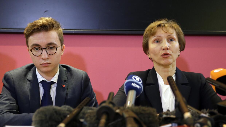 María Litvinenko, viuda de Alexander Litvinenko