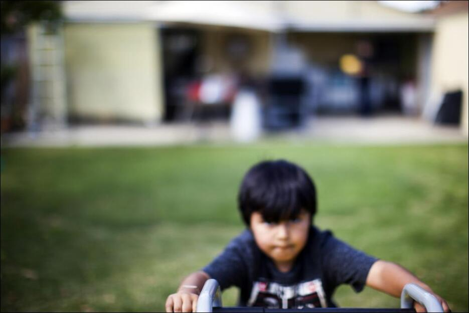 La salud de los niños en la zona es una de las principales preocupacione...
