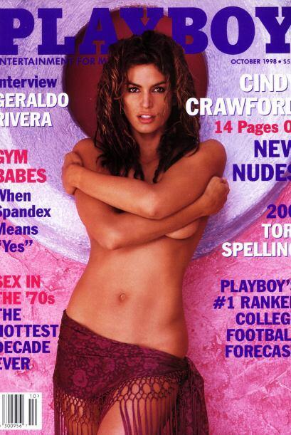 La edición en la que se desnudó para Playboy fue una de las más vendidas...