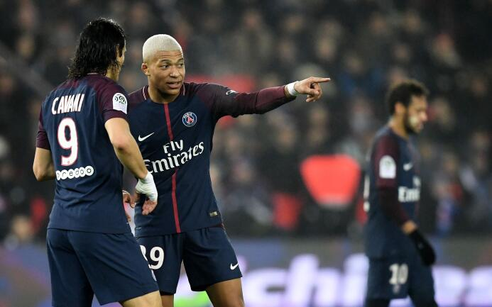 PSG cerró el 2017 con triunfo y como superlíder de la Ligue 1 de Francia...