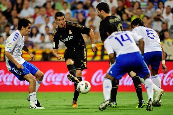 Y Cristiano no quería irse con un solo gol en su cuenta.