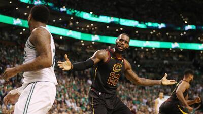 Celtics controlan a LeBron y se van arriba 3-2 sobre Cavs en la Final del Este