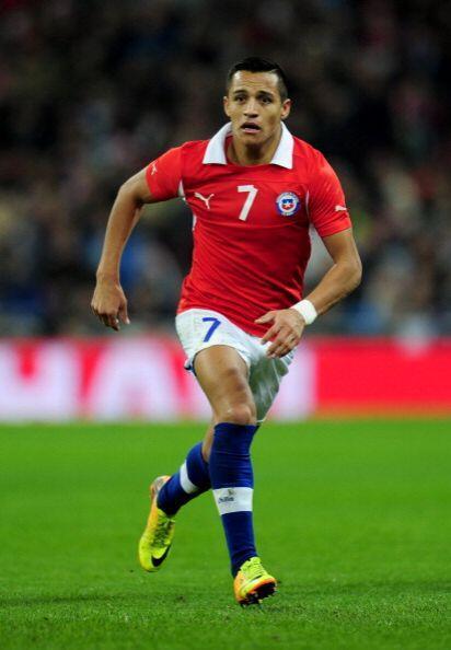 Alexis Sánchez.- El jugador más importante de todo Chile, juega en el Ba...