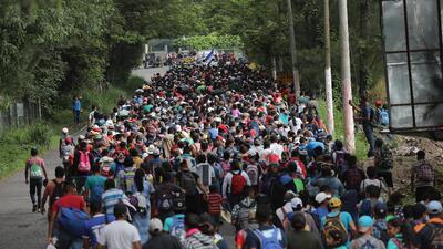 Diario de la nueva caravana de migrantes: más centroamericanos se suman rumbo a México y EEUU