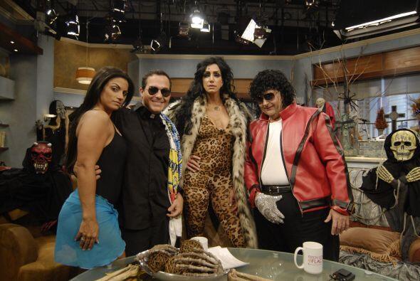 Otro de los disfraces memorables de Raúl y Lili fueron estos de la Tigre...