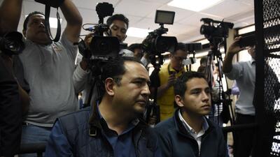 En fotos: El hermano y el hijo del presidente de Guatemala, detenidos por corrupción